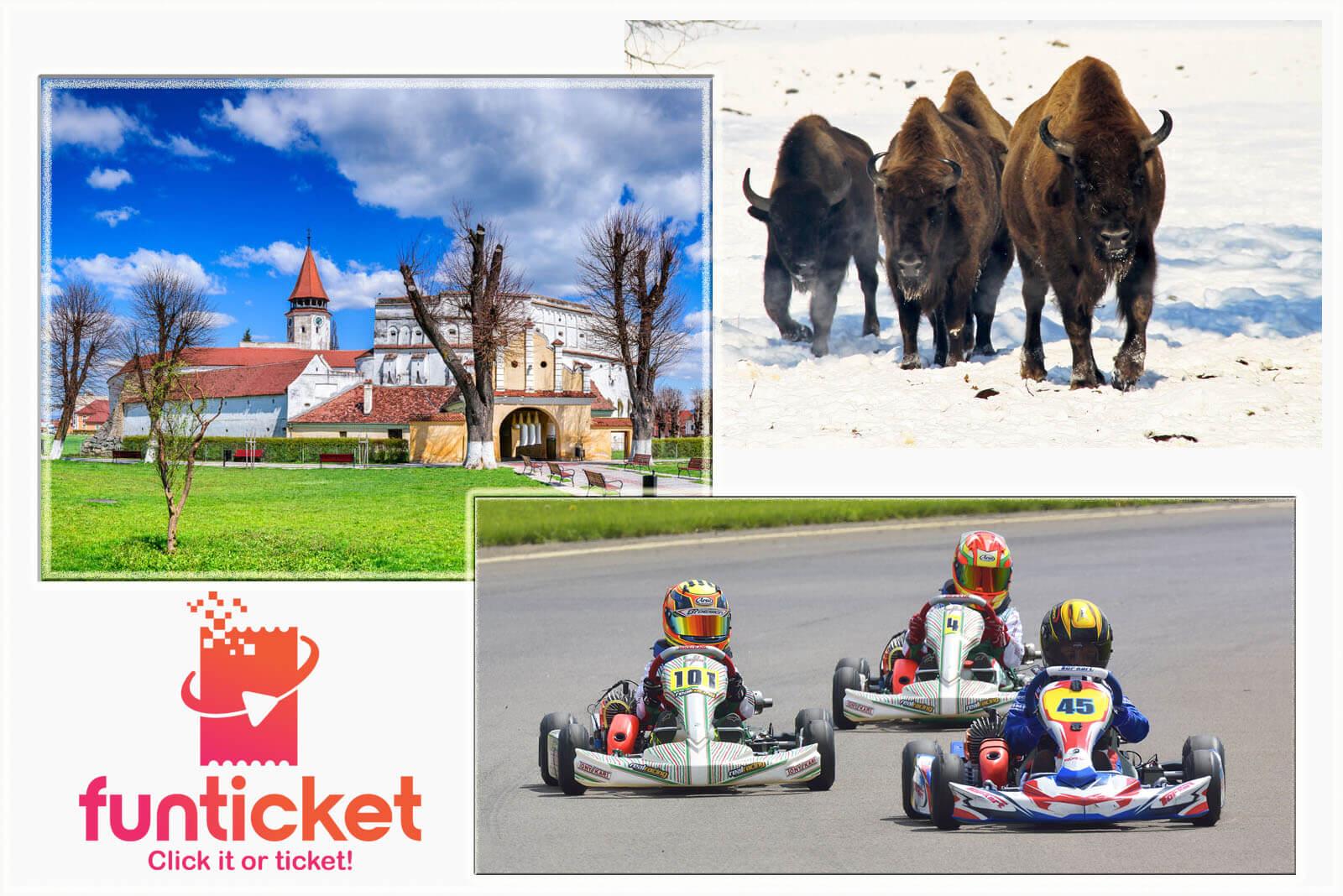 Prejmer Fortress Karting and Aurochs Reservation Special Offer